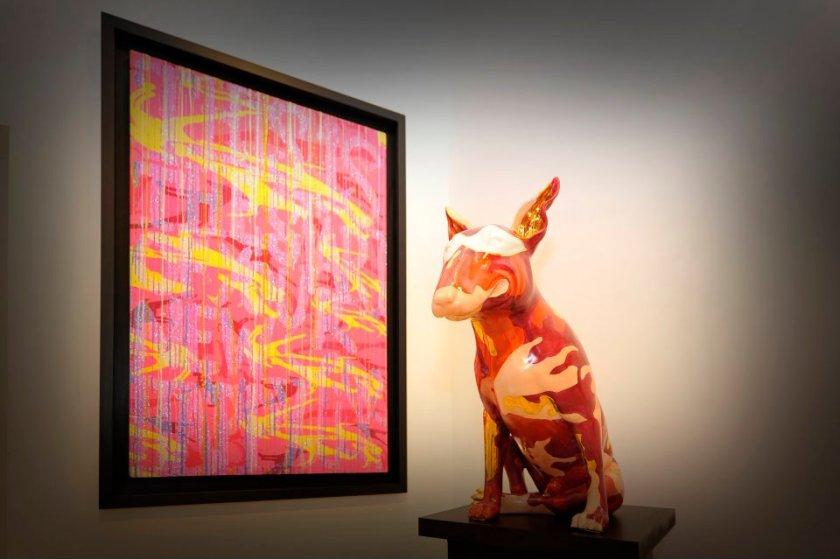 Exposition_d'Aurèle_-Chantons_sous_la_pluie-_à_La_Galerie_Lara_Vincy,_14_octobre-3_décembre_2011,_Paris_(France)