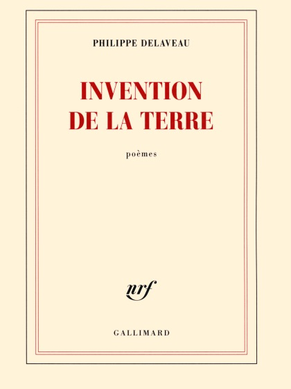 Invention de la terre - Couverture