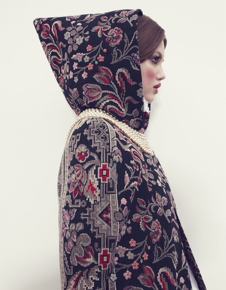 The Anastasia of Winter with Lindsey Wixson by Emma Summerton