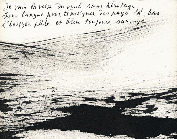 René Laubies & Philippe Delaveau CE QUE DISENT LES VENTS DANS LEUR LANGUE NUE, 2006