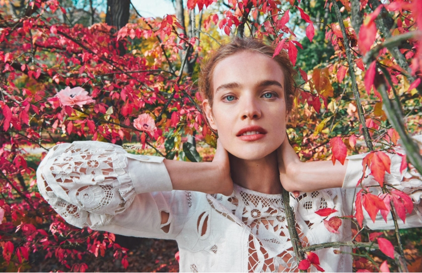 Natalia Vodianova for Porter Magazine spring 2015, Ryan McGinley
